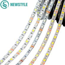 LED Strip 5050 DC12V RGB RGBW Flexible LED Lights Stripe 5M/Lot 60LEDs/m Single Color RGB RGBW For Home Decoration 5050 Strip