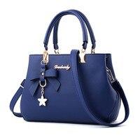 Women Tote Leather Handbag Shoulder Bag Simple And Fashion Messenger Satchel Shoulder Crossbody Female High Grade