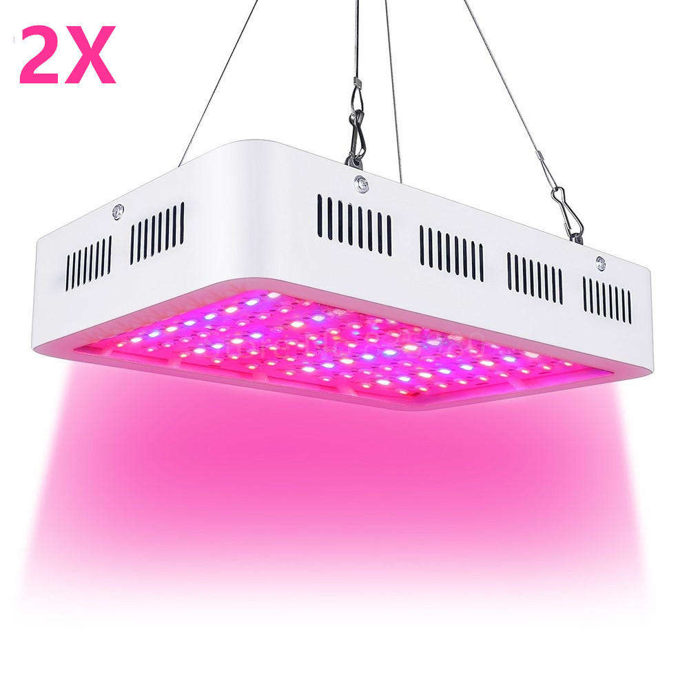2PCS LED Grow Light 1000W Full Spectrum Plant Light For Medical Flower Plants Vegetative indoor Greenhouse Grow Tent Wholesale led grow light 300w full spectrum grow lamps for medical flower plants vegetative indoor greenhouse grow lamp