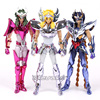 Saint Seiya Myth Cloth Shun Hyoga Ikki Action Figure Collectible Model Toy 17cm 3 Styles