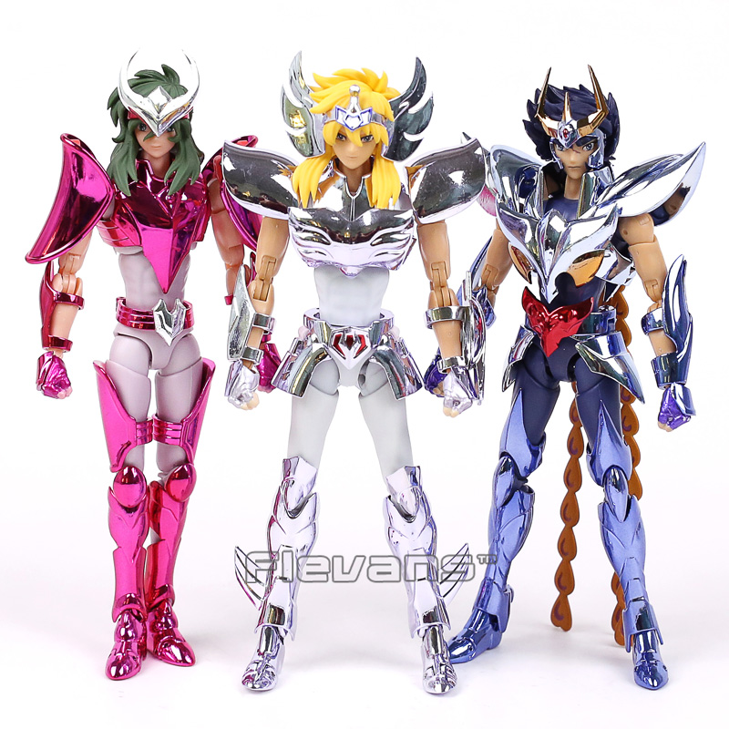 Saint Seiya Myth Cloth Shun / Hyoga / Ikki Action Figure Collectible Model Toy 17cm 3 Styles купить