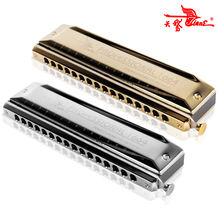 سوان لوني هارمونيكا 16 ثقوب 64 نغمات الفم الجهاز Instrumentos مفتاح C المهنية لوني القيثارة آلات موسيقية SW1664