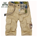 free shipping New man's shorts  summer cotton  shorts In trousers and more pockets of shorts 65yw