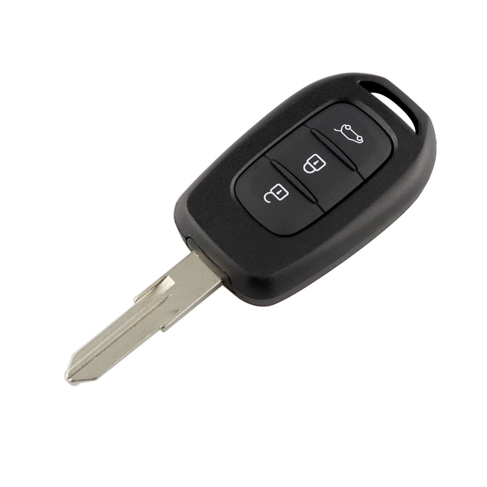 YIQIXIN 3 Button Remote Car Key 433Mhz PCF7961M Chip For Renault Sandero Dacia Logan Lodgy Dokker Duster Key With VAC102 Blade in Car Key from Automobiles Motorcycles