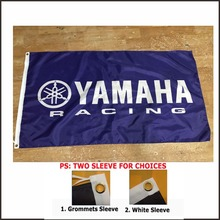 3x5ft yamaha flag, motorcycle logo banner flags decoration banner 100D car racing game