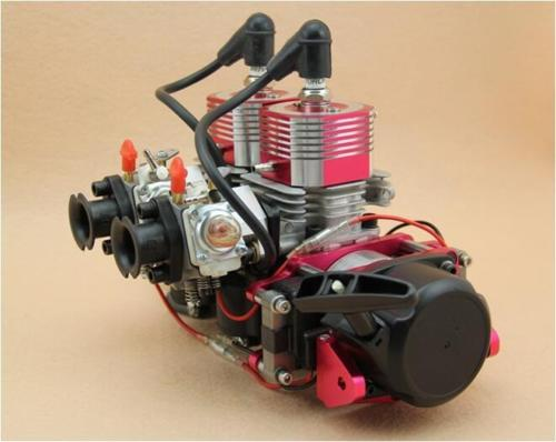 58CC motor Zwei zylinder fit rc boot teile