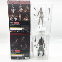 Figma SP055 Silent Hill 2 Red Pyramd Thing Figure Bubble Head Nurse Sp 061 Action Figure Toy Horror Halloween Gift