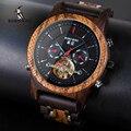 BOBO BIRD мужские и женские автоматические механические часы  деревянные роскошные часы с календарем и дисплеем  многофункциональные часы