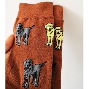 Image 2 - FUN SOCKS CRAZY labrador retriever socks for women with dog lab mom gift for labrador lovers 12pair wholesale