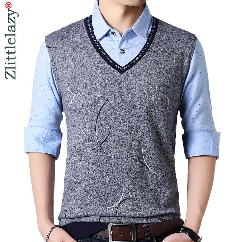 2019 brand casual spring long sleeve   polo   shirt men poloshirt jersey fake two pieces mens   polos   tee shirts dress fashions 201940