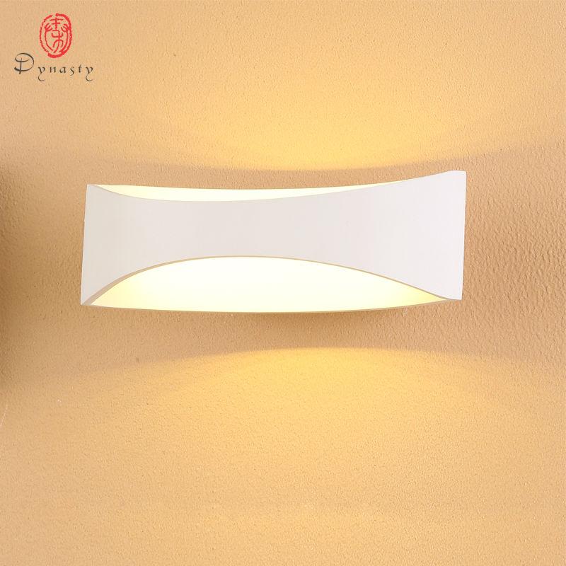 Dynasty alumínium LED fali lámpa modern dekorációs fali lámpa - Beltéri világítás