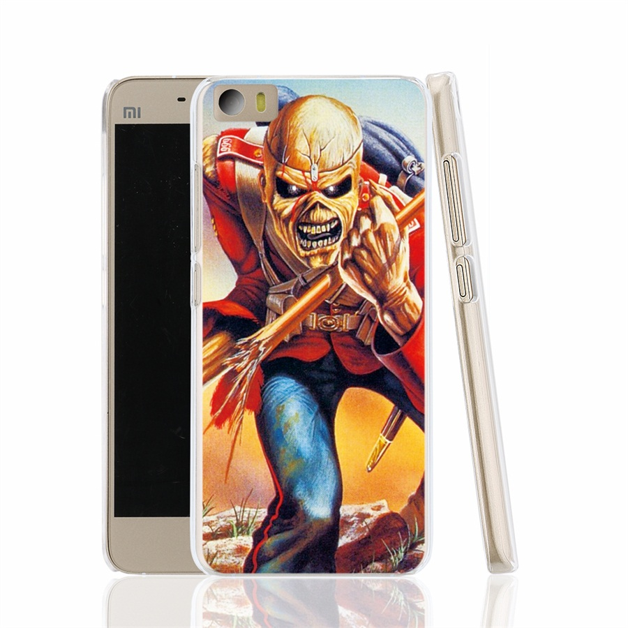 13284 Iron Maiden cell font b phone b font font b Cover b font Case for