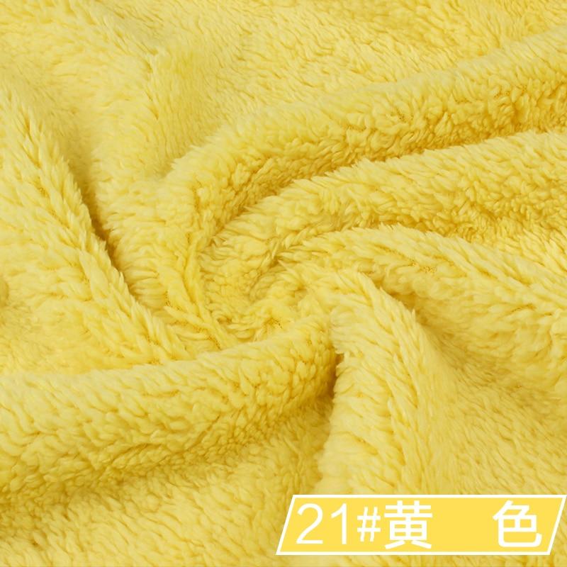 21 # amarillo 1 metro Berber Fleece Fabric camoFleece Shu Velveteen - Artes, artesanía y costura