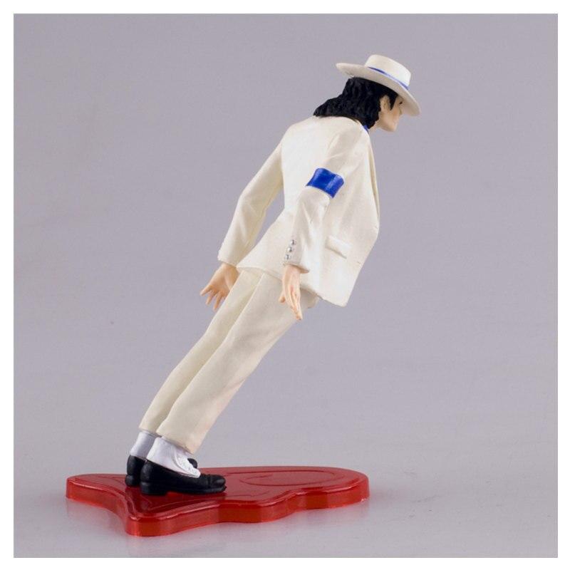 [Ny] Högkvalitativ Michael Jackson Konungen av pop PVC Action - Toy figuriner - Foto 4