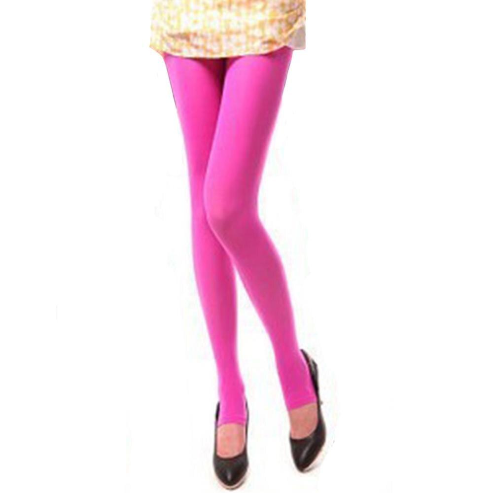 Шаг ноги женские теплые колготки 120D бархатные Collants весна осень Чулочные изделия Fantaisie сексуальные колготки эластичные Strumpfhose тонкие Medias - Цвет: Rose