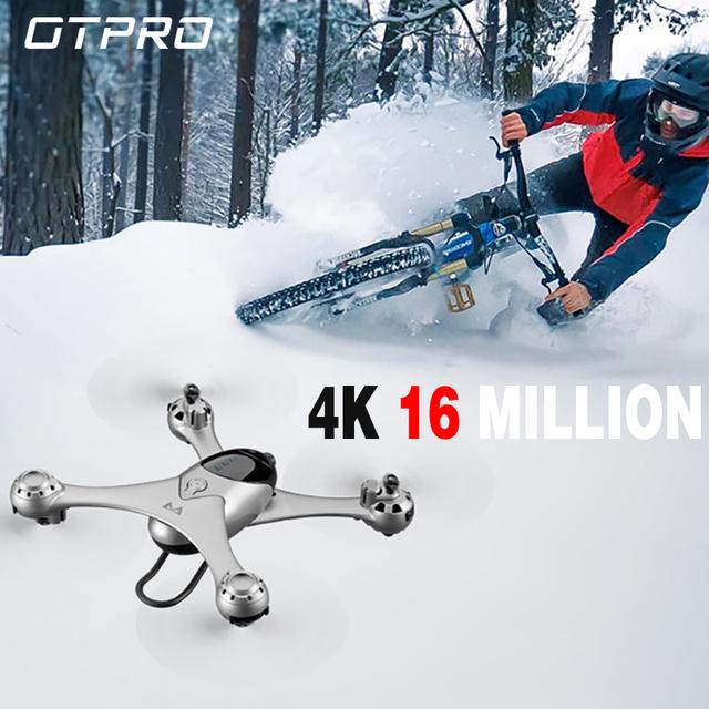 OTPRO M6 RC Drone FPV Altitude Mode RC Quadcopter with WiFi 1080P 4K 5MP Camera Follow Me One Key Return Headless Mode Drones
