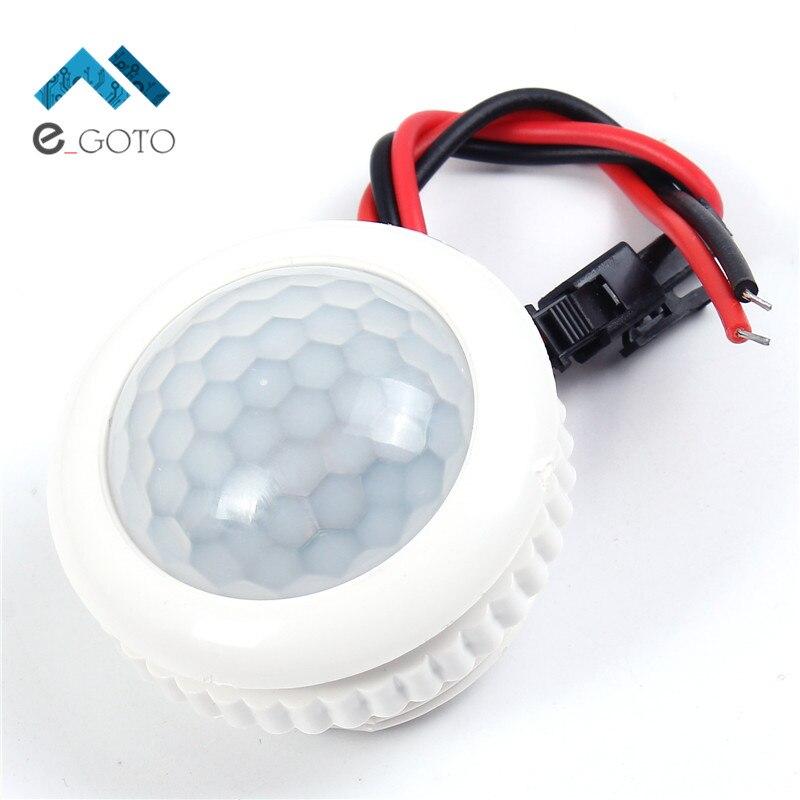 220v 50hz pir lamp ir infrared human body induction switch light control ceiling lamp motion sensor