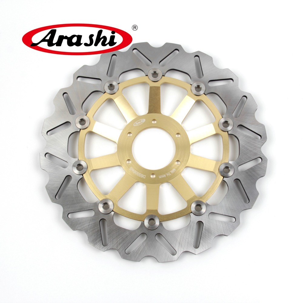 Arashi 1PCS CBR400F2 1985 1987 CNC Floating Front Brake Disc Brake Rotors For HONDA CBR F2