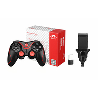 Gamepad Pc Bluetooth Joystick Android Bluetooth Gamepad Controller Joystick For IOS PC Android Stents Receiver New S5 Deluxe