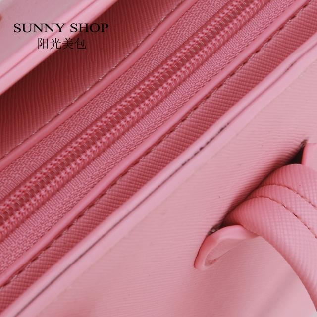 SUNNY SHOP  New Women Purse And Handbags Fashion Hasp Shell Women Messenger Bag White PU leather Shoulder Bag Brand Designer