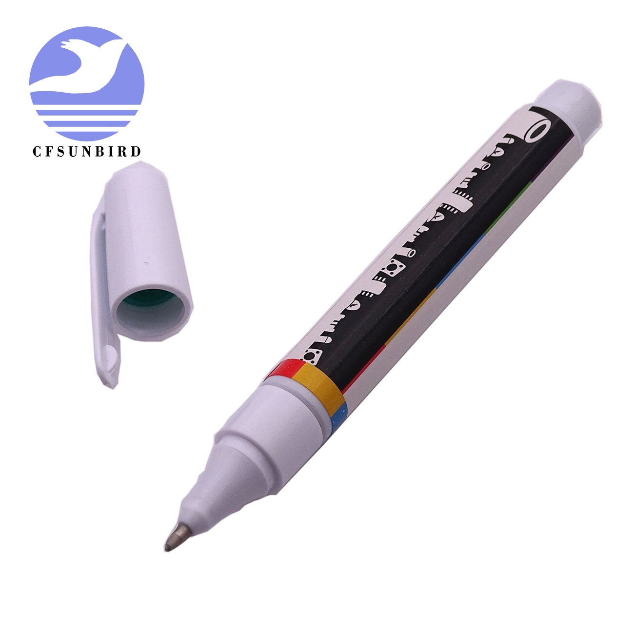 CFsunbird Conductive Ink Pen Electronic Circuit Draw Instantly Magical Pen Circuit DIY Maker Student Kids Education Black/Gold