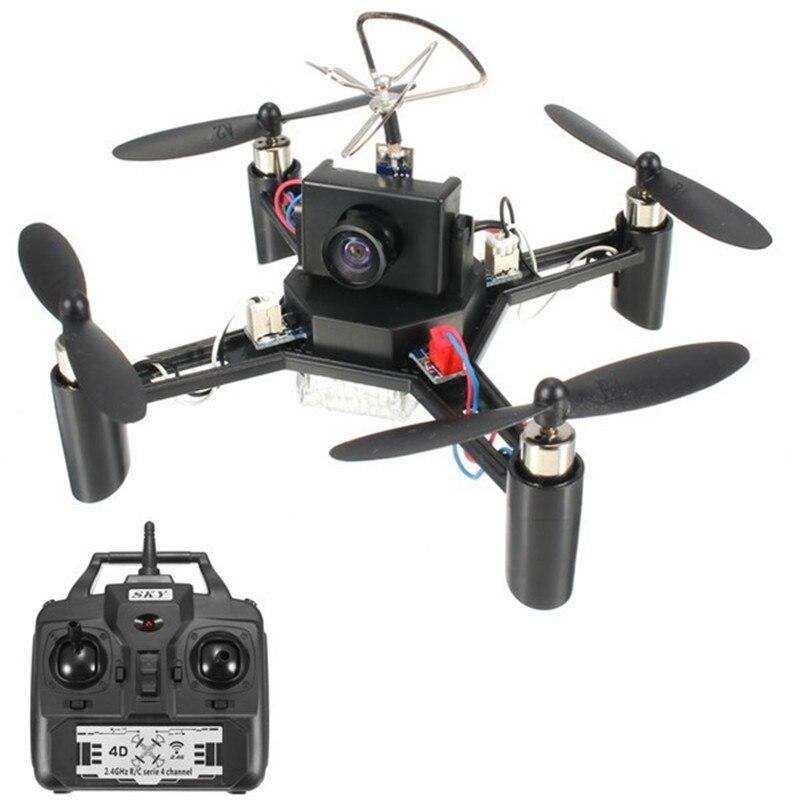 Di alta Qualità DM002 5.8G 600TVL Macchina Fotografica 2.4G 4CH 6 Assi RC Quadcopter RTF Giocattoli All'aria Aperta FPV Per DIY Drone RC Modelli