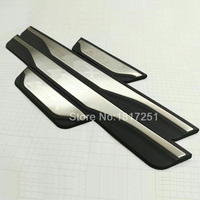 High Quality Stainless Steel Scuff Plate Door Sill 4pcs Set Car Accessories For Mitsubishi ASX RVR