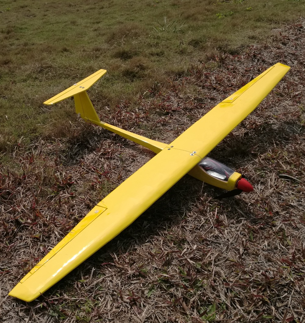 DIY balsa wood rc glider plane Free Shipping