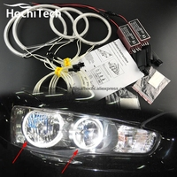 HochiTech Excellent CCFL Angel Eyes Kit Ultra Bright Headlight Illumination For Mitsubishi Lancer 2008 2015 Non