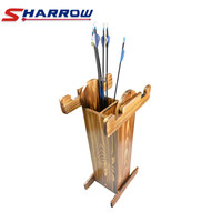 1Pc Archery Bow Stand Arrows Holder Recurve Compound Longbow Crossbow Show Display Arrow Quiver Bow And Arrow Accessories