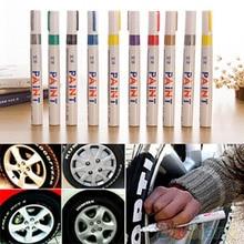 12 цветов водонепроницаемый автомобильных шин протектора резиновый металлический маркер с перманентной краской ручка