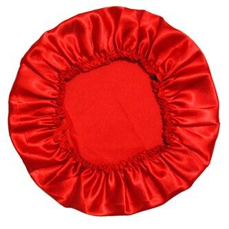 Атласное шелковое ночное белье из полиэстера, 11 цветов - Цвет: Red