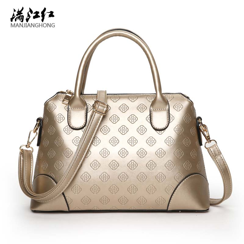 2017 Fashion Women PU Leather Handbags Embossed Brand Shoulder Female Bags Solid Color Zipper Messenger Bags Bolsos Mujer Bag micocah brand new arrival women messenger pu leather bag design with tassel solid color brand bag withe zipper bags gl30015