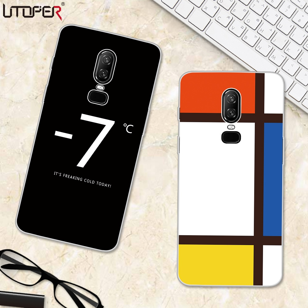 UTOPER Lucky 7 Phone Cases For Oneplus 6 Case Cover For One plus 5T Coque For Oneplus 5 Capa For Oneplus 5 T A5000 A5010 A6000