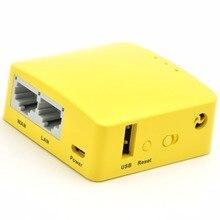 GL.iNet Mini routeur Wi Fi sans fil MT300N v2 MTK7628N 802.11n, 300 mb/s OPENWRT, USB, répéteur de Wi Fi, antenne interne OPENVPN