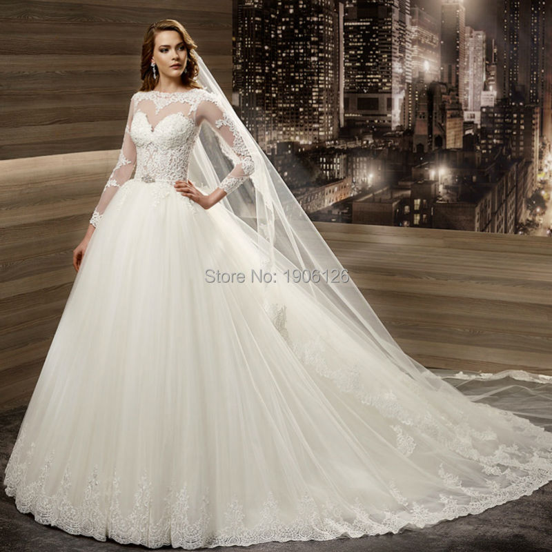 Popular Winter Bridal Gown-Buy Cheap Winter Bridal Gown lots from ...