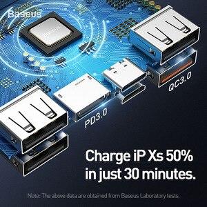 """Image 5 - Baseus 30000mAh כוח בנק פ""""ד תת 3.0 מהיר טעינת מטען 33W Powerbank נסיעות חיצוני סוללות עבור טלפון נייד"""