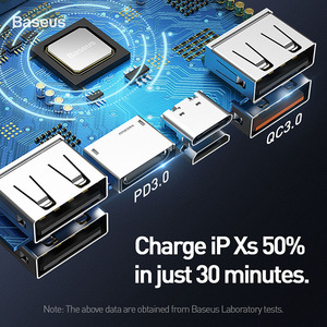 Image 5 - Baseus 30000mAh 전원 은행 PD SUB 3.0 빠른 충전 휴대용 충전기 33W Powerbank 여행 외부 배터리 팩 전화 노트북