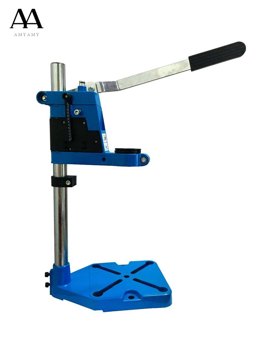 AMYAMY Floor Drill Press Stand Table for Drill Workbench Repair Tool Clamp for Drilling Collet drill Press Table 35 & 43mm