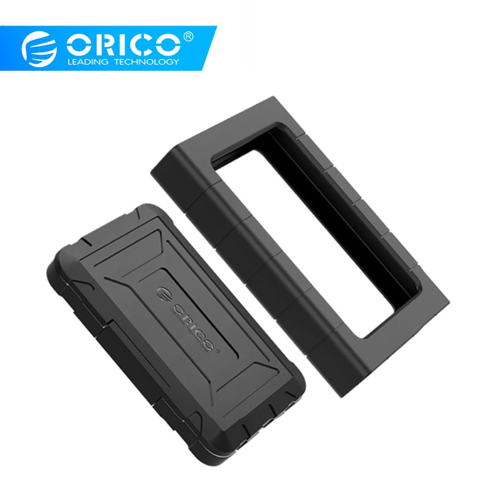 ORICO Three-proofing HDD Case  2.5'' SATA To Type-C USB3.0 Hard Drive Enclosure SSD Adapter Support 5Gbps 10Gbps For Mac Windows