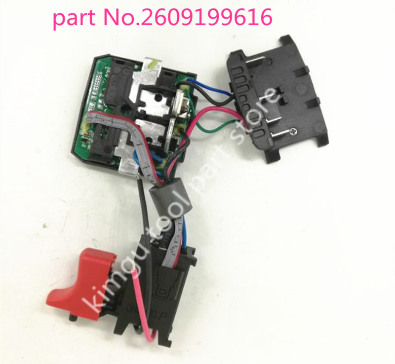 Switch Electronics Module For Bosch 2609199616 GSR1800-LI TSR1800-LI GSR18V Switch