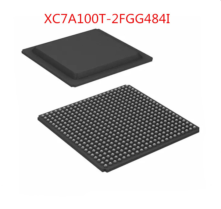 Free Shipping 2pcs/lot XC7A100T-2FGG484I XC7A100T BGA-484 new stock ep3c55f484c6n fpga 484 bga new
