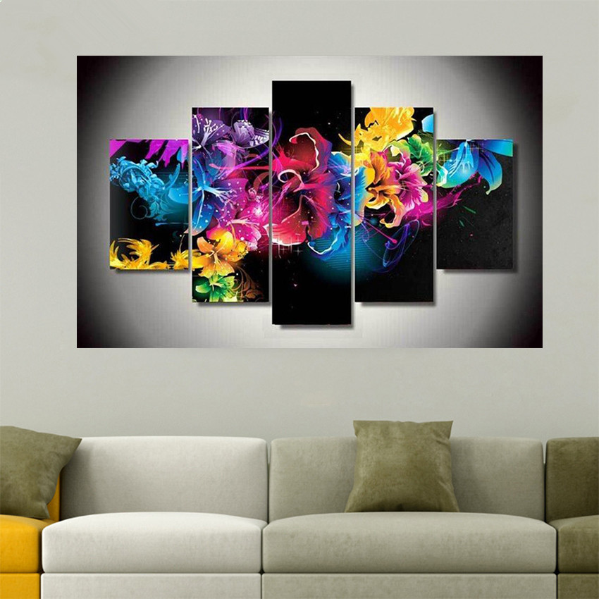 5D Rose Kombination DIY Diamant Malerei Stickerei Diamond Painting Kreuzstich
