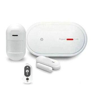 GSM+WIFI Burglar Alarm System APP Remote Control