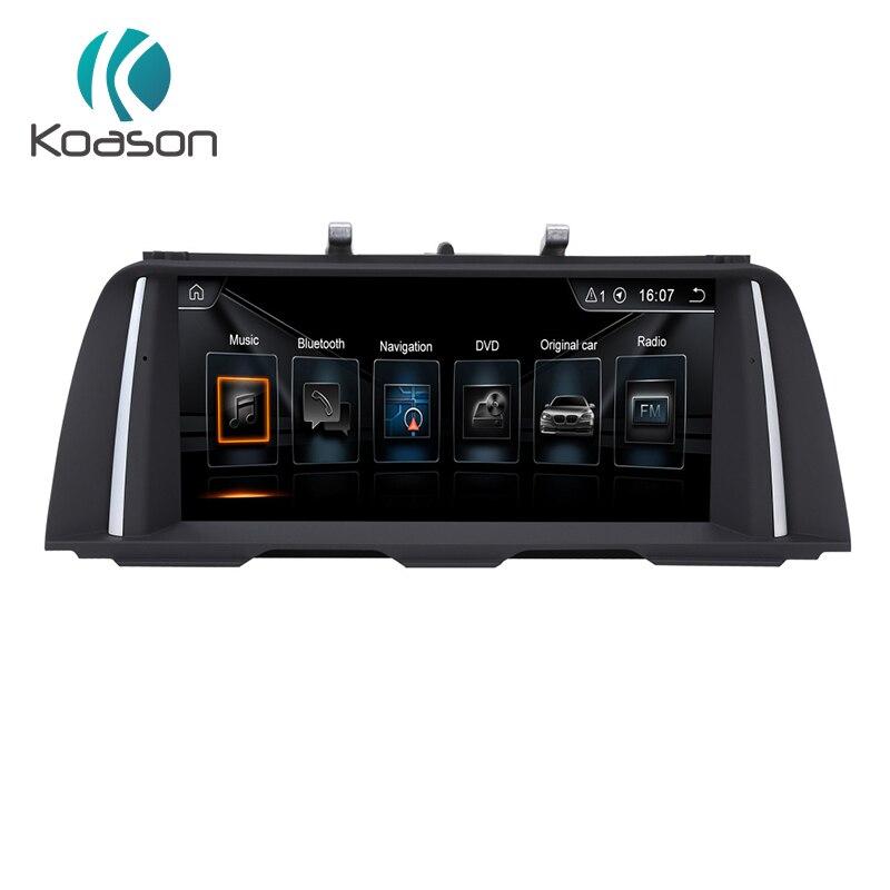 Lecteur multimédia de voiture Koason Android 7.1 2G + 32G 10.25 pouces écran pour BMW série 5 F10 F11 CIC système de Navigation GPS de véhicule