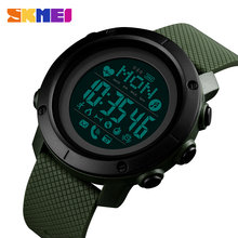 Smart Watch For Android Wear Android OS IOS Bluetooth Women Smartwatch Men Sport Watch Compass relógio inteligente SKMEI 2019(China)