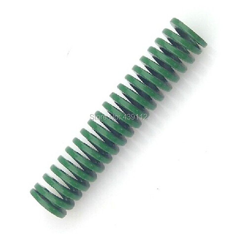 free shipping Punching Press Mold 30mm free Length Green Die Moulds Spring 10pcs/lot free shipping 10pcs an8835sb