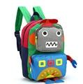 Children backpack Cartoon children 's school kindergarten boys and girls 1-5 - year - old shoulder bag Robot  backpack h65
