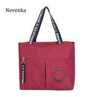 NEVENKA Travel Totes Women Oxfords Travelling Bags High Quality Durable Shopping Bags Large Capacity Casual Totes