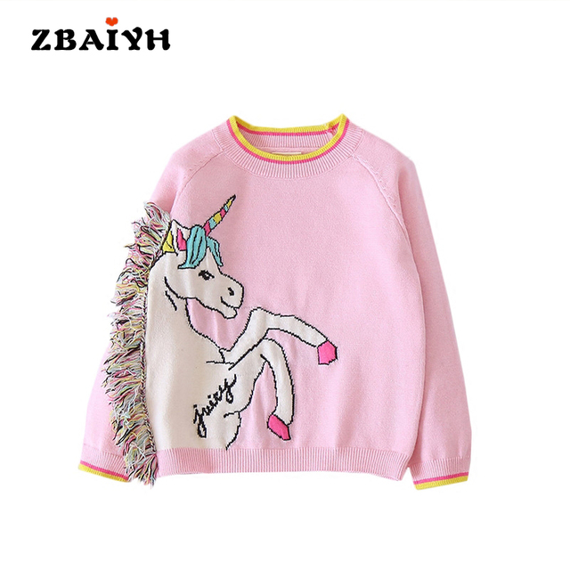 3e9139a8e 2017 Winter Kids Clothes Baby Girls Sweaters O Neck Long Sleeve ...